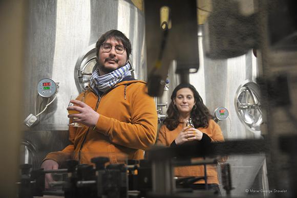 Les brasseurs Camille et Lucile - Brasserie La Cuverie